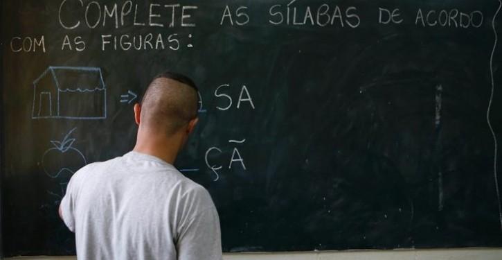 Alfabetização-Prisão