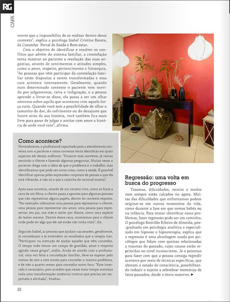 Entrevista Dr Romildo Psicólogo em Guarulhos na Revista Resgate-se 3
