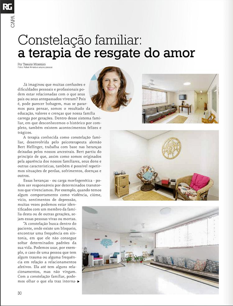 Entrevista Dr Romildo Psicólogo em Guarulhos na Revista Resgate-se 2